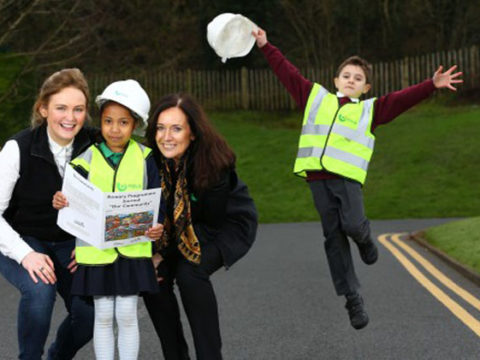 Over 120 School Pupils Design Their Perfect Community