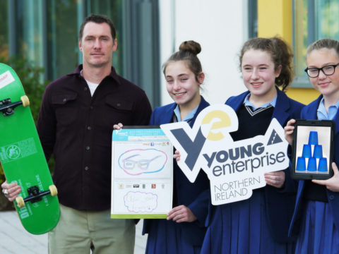 Mac Makes his Mark on Ashfield Girls'