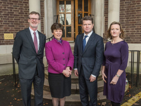 US Ambassador shares tips for success with Young Enterprise students