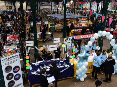 Young Entrepreneurs take over St George's Market