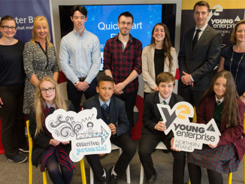 Ulster Bank Entrepreneurial Spark Chiclets give young entrepreneurs a 'QuickStart' into business