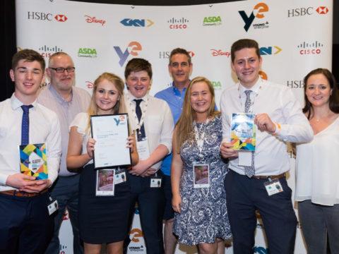 Local young entrepreneurs take national awards.
