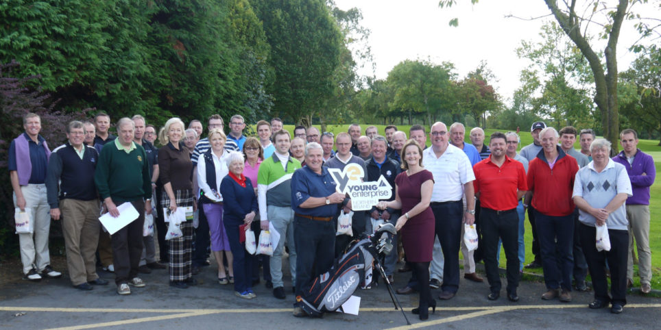 Holywood golfers tee off for Young Enterprise