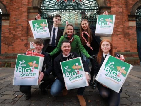 Students Gearing Up For Big Market Launch