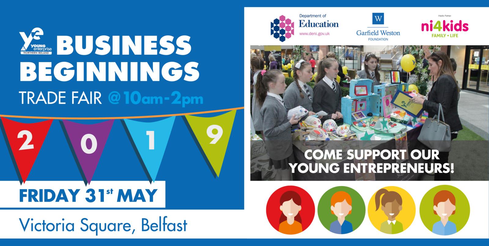 Business Beginnings Victoria Square Trade Fair